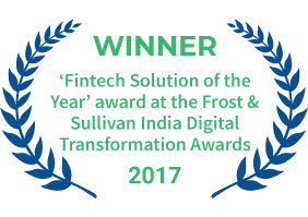 FundsIndia was conferred 'Fintech Solution of the Year' award at the Frost and Sullivan India Digital Transformation Awards in 2017.