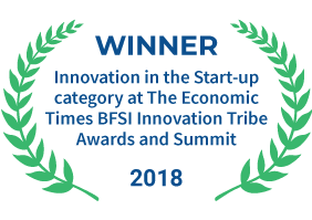 FundsIndia was awarded for 'Innovation in the Start-up Category' at The Economic Times BFSI Innovation Tribe Awards and Summit in 2018.